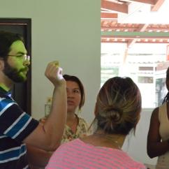 Taller de Narración Escénica para la Enseñanza de las Ciencias, Congreso del CIENTTEC, Liberia, Costa Rica